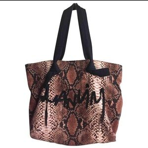 Lanvin printed canvas tote